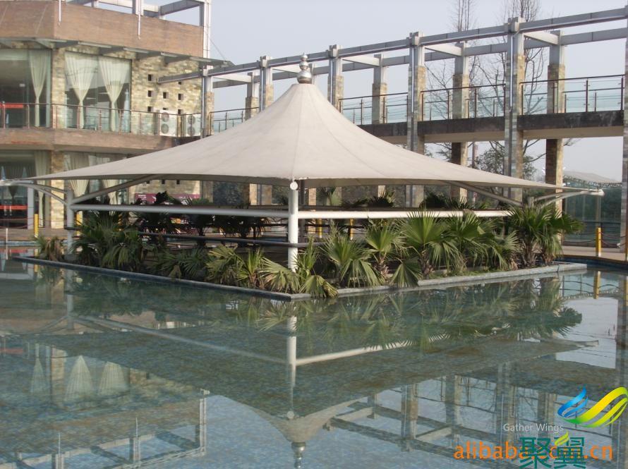 上海景观风景厅制作_膜结构风景厅设计_风景厅子应用