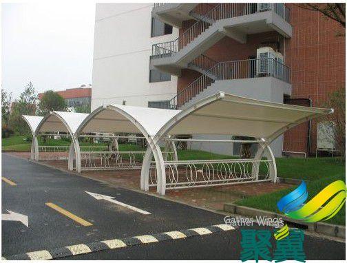 校园单车遮阳棚,学校专用单车遮阳棚