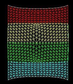 高尔夫发球台膜结构膜布裁剪图3