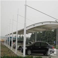 聚翼膜结构车棚价格最透明2