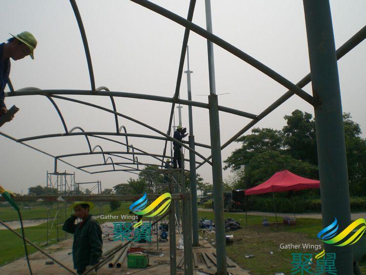 台膜结构雨篷,昆山膜结构雨篷
