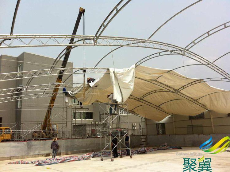 宁波泳池膜结构工程