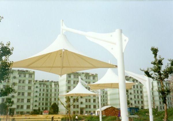 吊伞膜结构建筑 景观吊伞JY-100DS安装