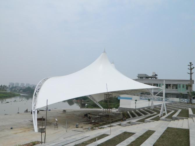 舞台景观棚  型号JY-100WT  膜结构景观棚