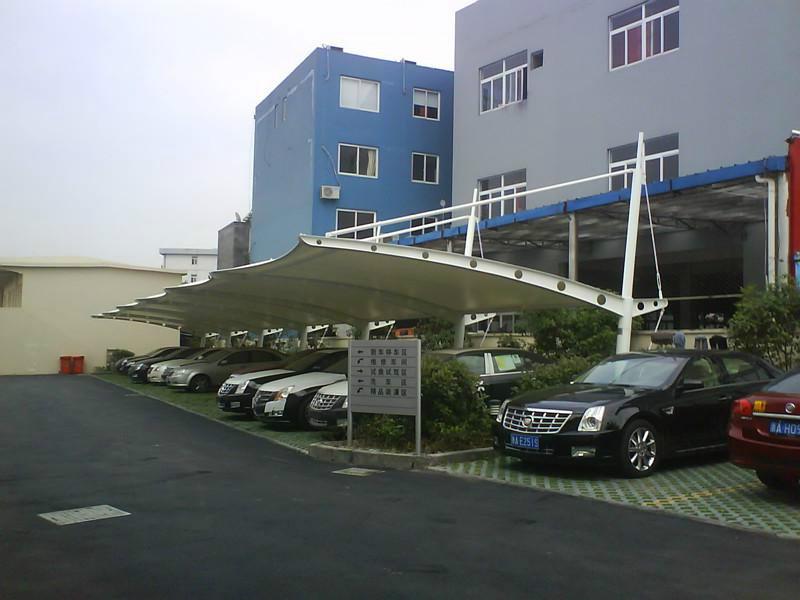 上海市松江区膜结构停车棚施工安装
