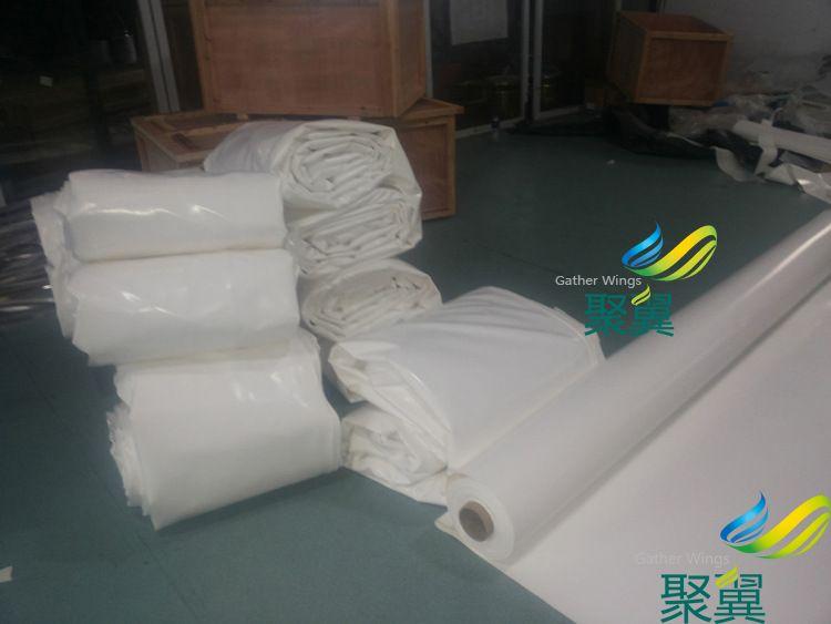 白色PVC膜布1100g规格:长18米宽6米