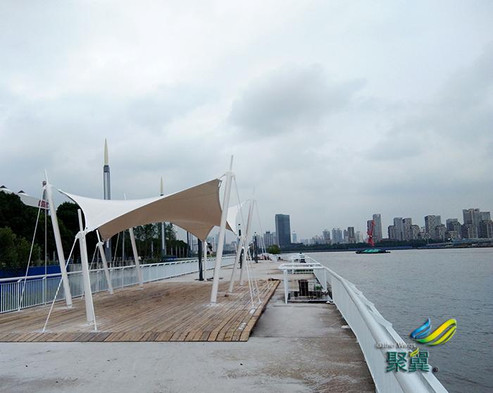 滨江景观膜修建高雅-景观膜透光效果-景观膜风格
