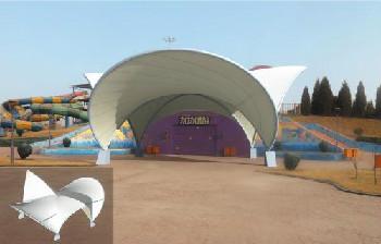 景观舞台膜结构*景观舞台膜结构主要性能有哪些??