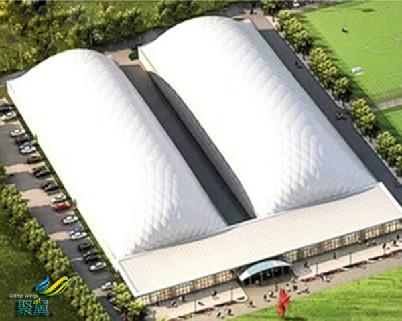 大跨度气膜建筑科学环保*大跨度气膜建筑PVDF建筑膜材