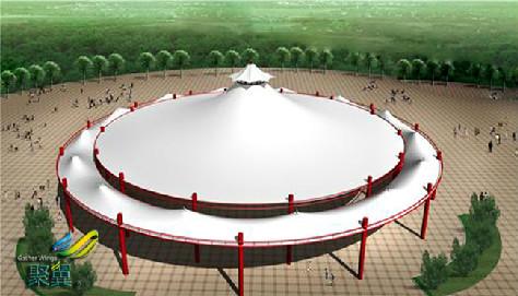 膜结构建筑形式-膜结构建筑大跨度建筑及建筑形式