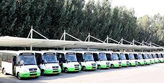 如何节省南京大巴车膜结构车棚的维修清理费用