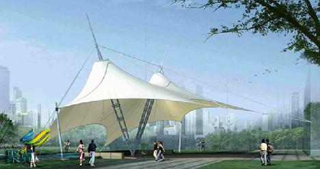 景观膜结构建筑-景观膜结构绿化美丽城市
