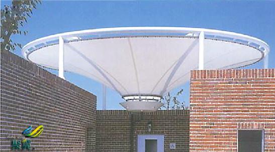上海门厅膜结构雨篷遮阳防雨*门厅膜结构雨篷美观大气