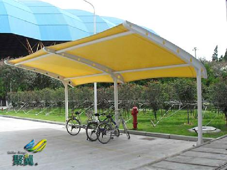 膜结构自行车棚厂家的安全优势*膜结构自行车棚值得提倡的