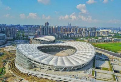 膜结构体育场大型建筑 膜结构体育场焊接及结构形式