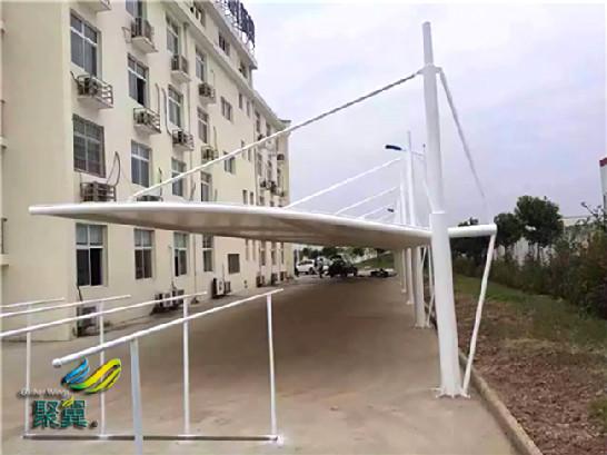 膜结构车棚特点及膜结构车棚工厂货源