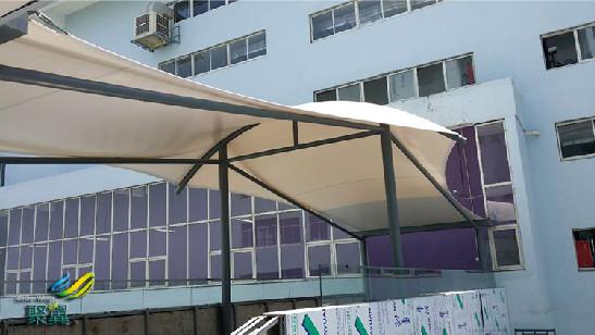 定制商务楼廊桥雨篷 聚翼商务楼廊桥施工服务包设计