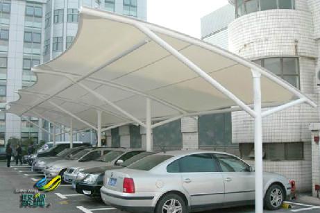 膜结构车棚价钱怎样计算和膜结构效果图有哪些