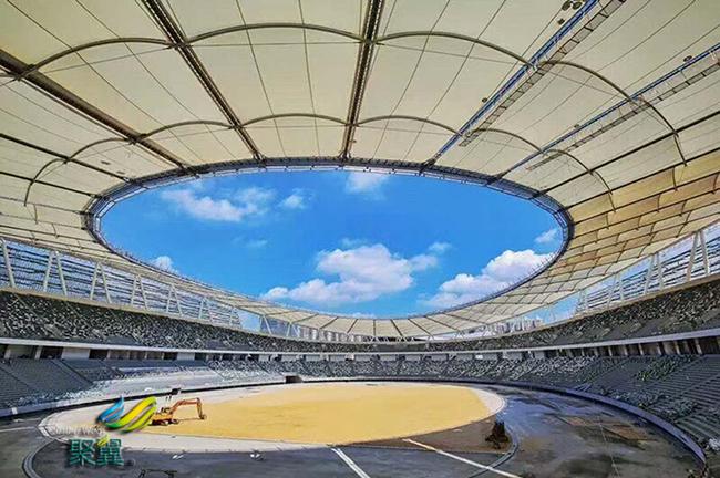 膜结构体育场大型建筑 膜结构体育场焊接形式