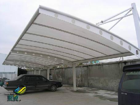 膜结构车棚连接方式的处