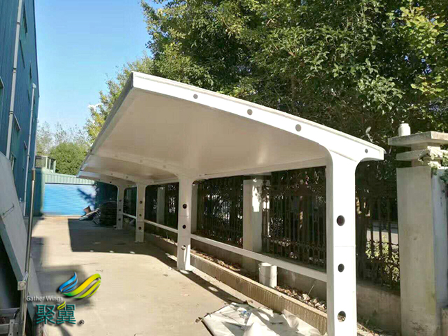 膜结构车棚安装工艺|膜结构车棚注意事项