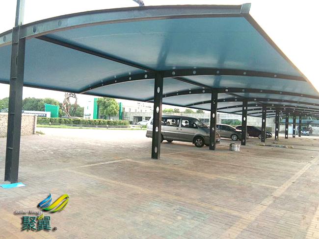 膜结构车棚膜布多种膜材|膜结构车棚颜色可挑选