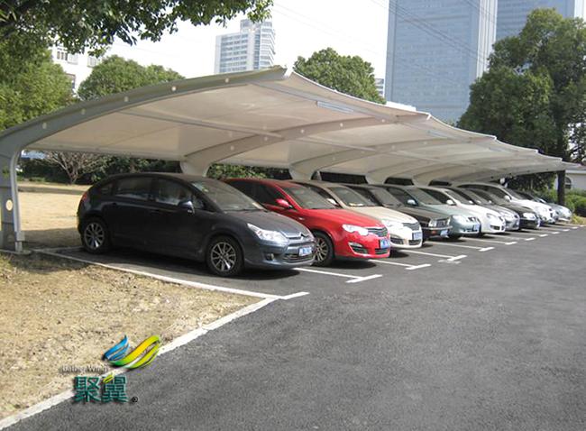 膜结构车棚设计时应该注意的事项有哪些