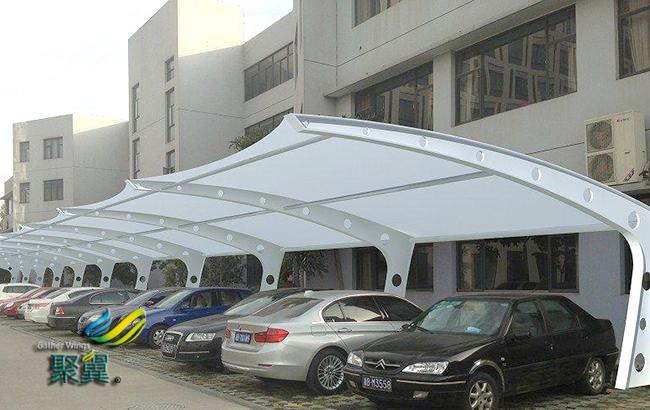 家装膜结构雨棚的实用性