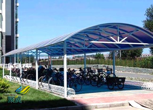 膜结构车棚价格|膜结构车棚造型及采光性