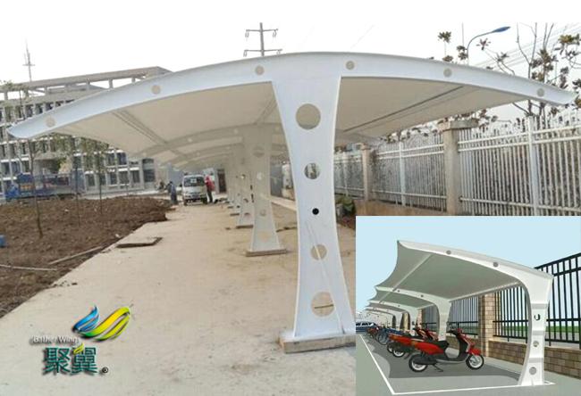 膜结构车棚钢规范 透光率20%