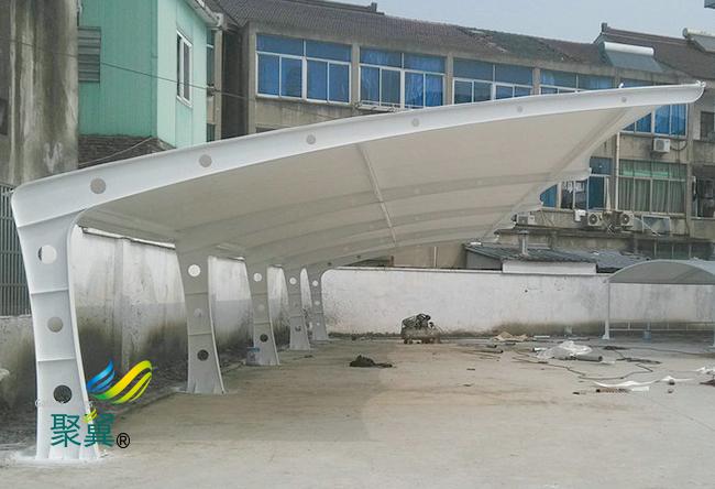 膜结构车棚棚材区分|膜结构车棚PVC涂层