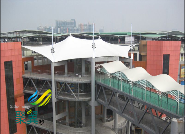 景观膜结构施工周期短 景观膜结构新颖美观