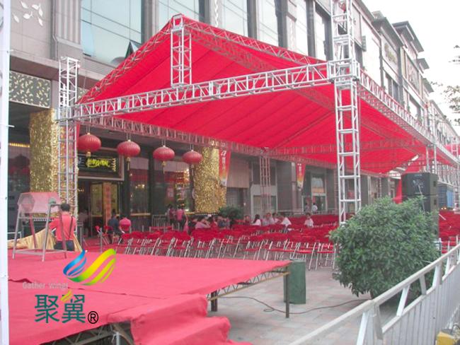 篷房膜结构优势|篷房膜结构拆装灵活