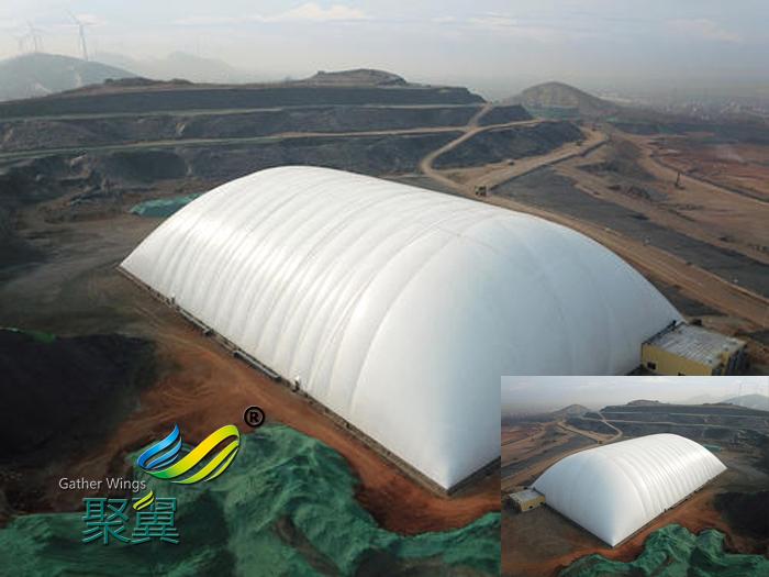 干煤棚设计煤炭大篷网架结构施工改造消防要求