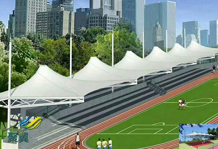 体育看台球场膜法拉利ETFE网球场4008613119