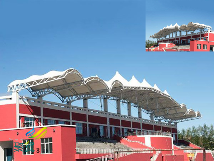 体育场膜结构看台多少钱一平米