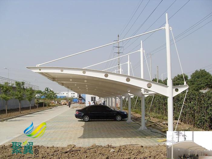 上海活动雨棚电动棚膜结构设计企业
