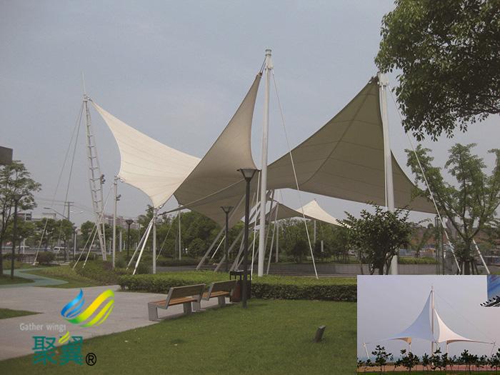 哈尔滨张拉膜景观棚材质加工