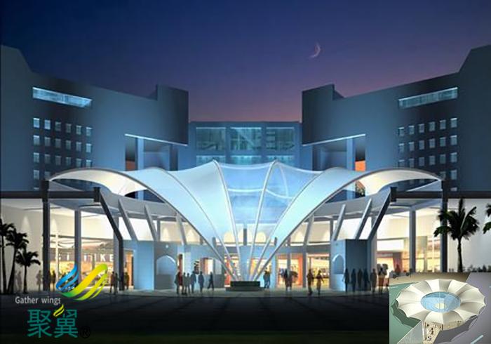 北京双层著名充气张拉水立方膜结构建筑基础价格实例