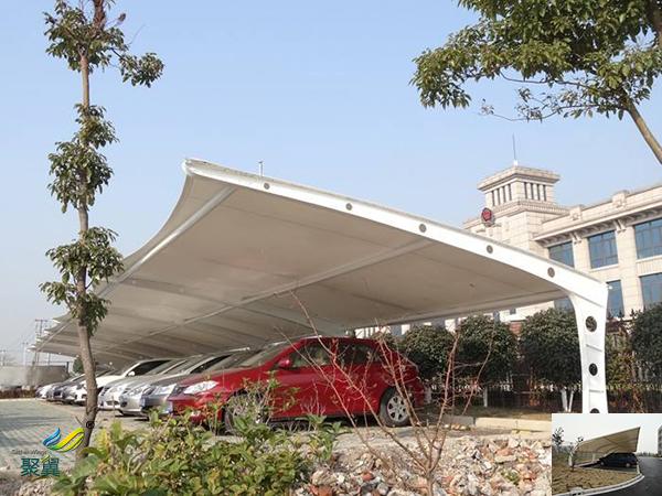 义乌安装膜结构汽车停车棚厂家电话工程图纸