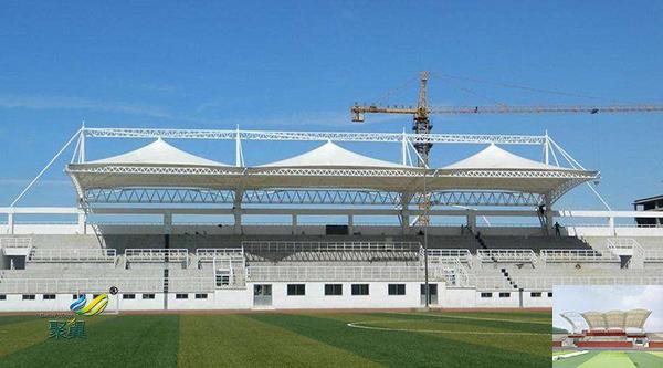 成都膜结构体育看台球场膜造型承包价格找哪家厂家