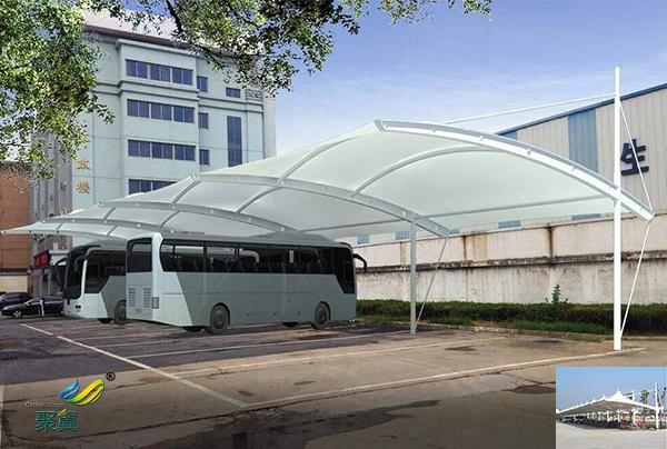 苏州钢膜结构自行车停车棚定制安装厂家工程报价