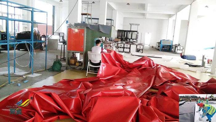 国内品牌膜结构停车棚膜布安装视频生产商品牌膜布