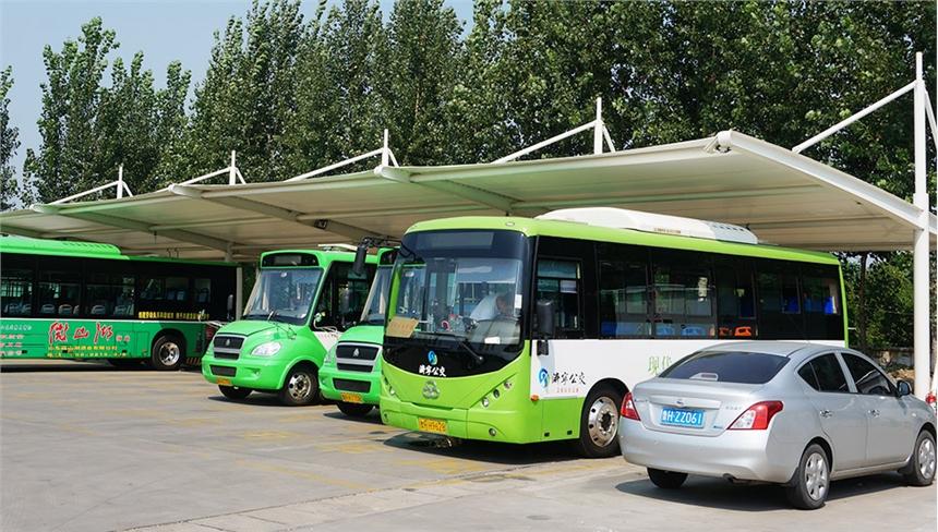 江苏小区户外膜结构大巴车停充电桩车棚施工方案