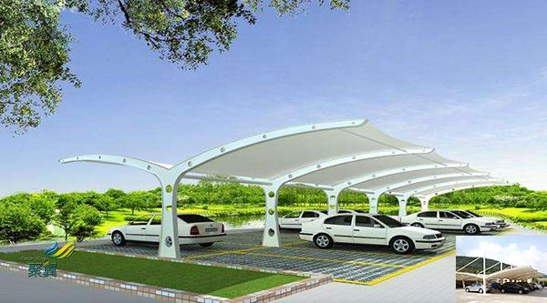 无锡膜结构定制充电桩汽停车棚工程报价定做公司