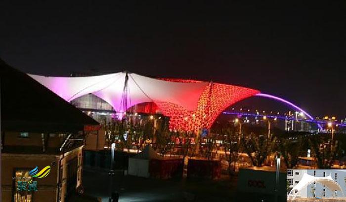 安康演出屋顶舞台膜结构雨棚遮阳篷厂家报价