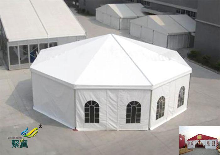 广州搭建膜结构活动户外仓储欧式展览帐篷篷房制造施工方