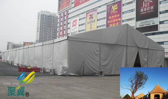 常州膜结构制作车展酒店临时婚礼仓库篷帐篷房生产厂家图