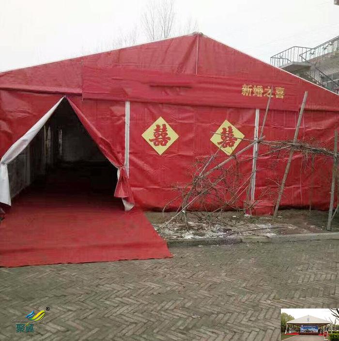 广州搭建户外欧式膜结构帐篷篷房制造生产厂家设计图