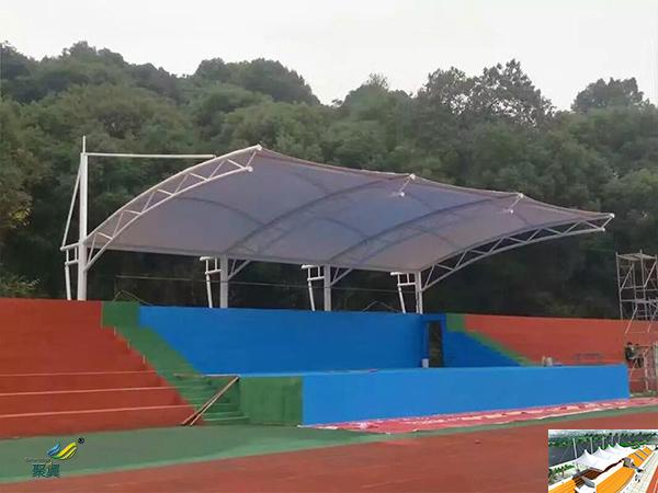 河南膜结构体育看台场馆找哪家平面图承包价格